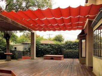 DIY Backyard Shade Structure 29