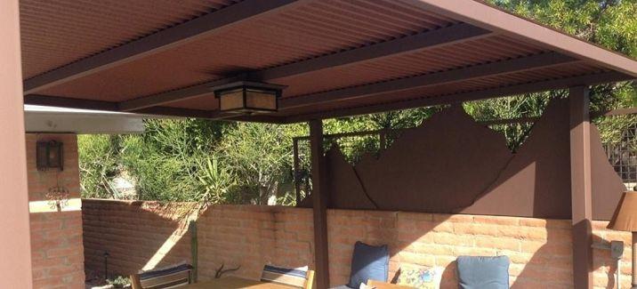 DIY Backyard Shade Structure 7