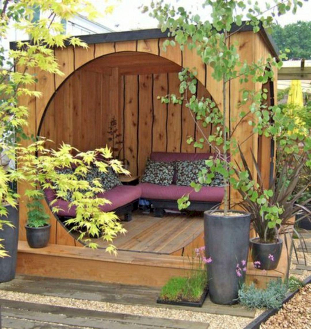 Garden Design Ideas With Seating Area 18