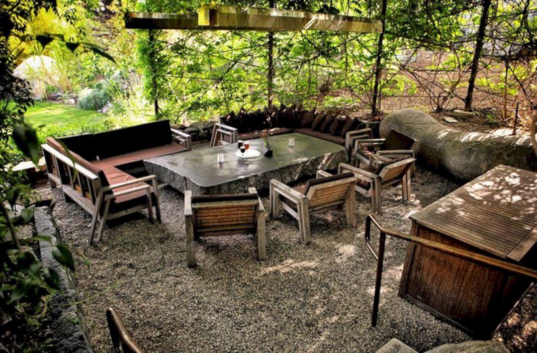 Garden Design Ideas With Seating Area 26