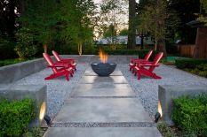 Gravel Backyard Design Ideas 21