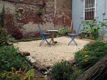 Backyard Gravel Design Ideas on gravel fire pit ideas, gravel gardening ideas, gravel front yard landscaping ideas,