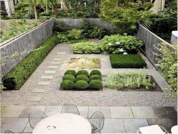 Gravel Backyard Design Ideas 4