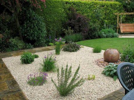 Gravel Backyard Design Ideas 6