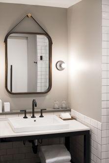 Industrial Small Bathroom Design 10