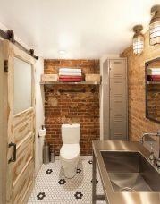 Industrial Small Bathroom Design 8