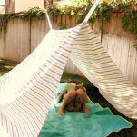Kids Backyard Camping Idea 14