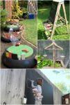 Kids Backyard Camping Idea 25