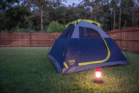 Kids Backyard Camping Idea 26