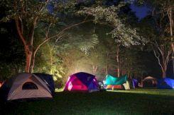 Kids Backyard Camping Idea 29
