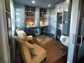 Laundry Craft Room Combo Design 13