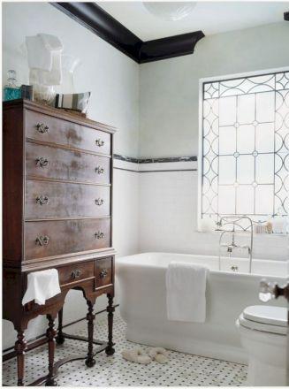 Modern Vintage Bathroom Design 10