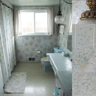 Modern Vintage Bathroom Design 13