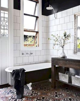 Modern Vintage Bathroom Design 24