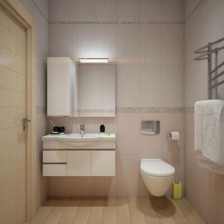 Modern Vintage Bathroom Design 8