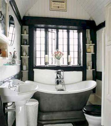 Modern Vintage Bathroom Design 9