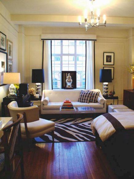 Studio Apartment Decorating Ideas 17