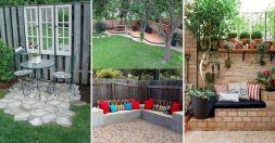Backyard Garden Ideas With Seating Area 10