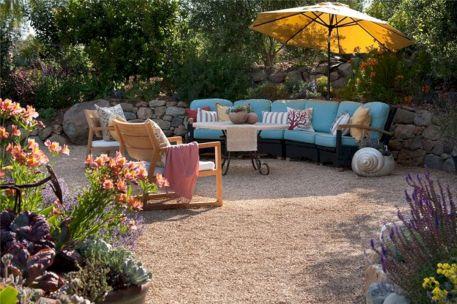 Backyard Garden Ideas With Seating Area 4