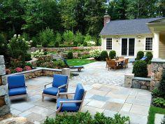 Backyard Garden Ideas With Seating Area 6
