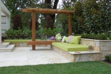 Backyard Garden Ideas With Seating Area 9