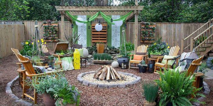 DIY Backyard Patio Ideas 27