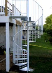 Exterior Spiral Staircase Ideas 23