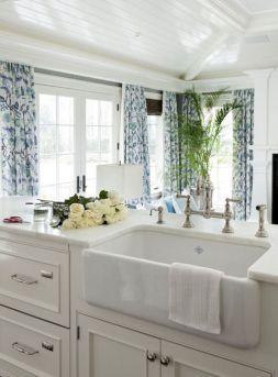Farmhouse Sinks Design For Kitchen 13