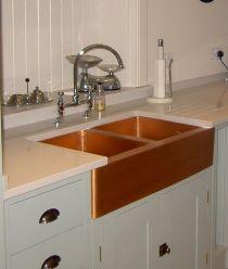 Farmhouse Sinks Design For Kitchen 20
