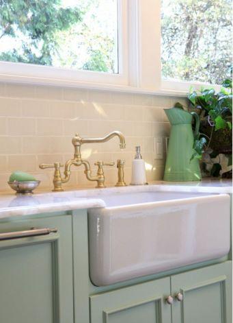Farmhouse Sinks Design For Kitchen 31