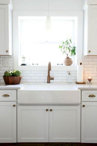Farmhouse Sinks Design For Kitchen 7