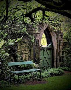 Goth Garden Ideas 8