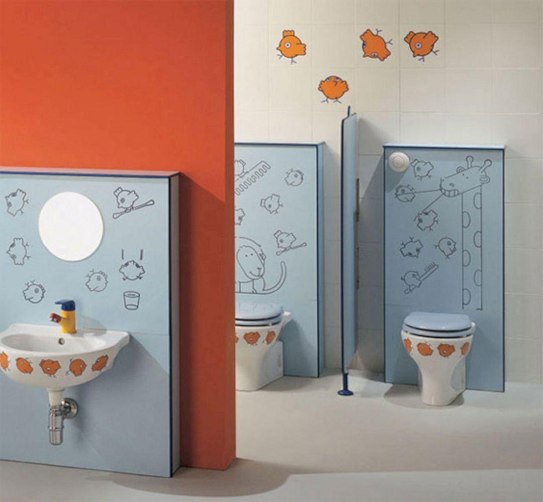 Kids Bathroom Design 9
