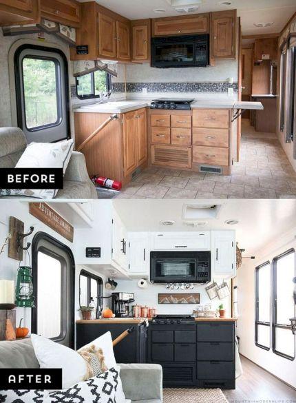 RV Kitchen Makeover Ideas 0161