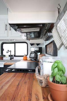 RV Kitchen Makeover Ideas 0171