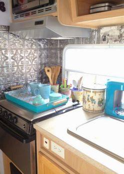 RV Kitchen Makeover Ideas 0241