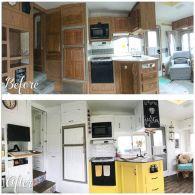 RV Kitchen Makeover Ideas 041