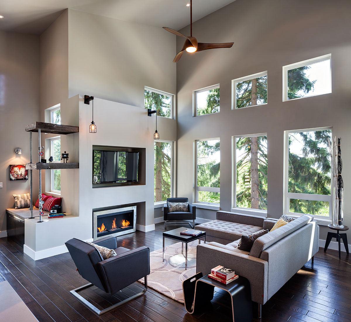 Modern Home In Eugene, Oregon By Jordan Iverson Signature