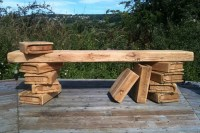 Unusual Outdoor Benches Picture - pixelmari.com