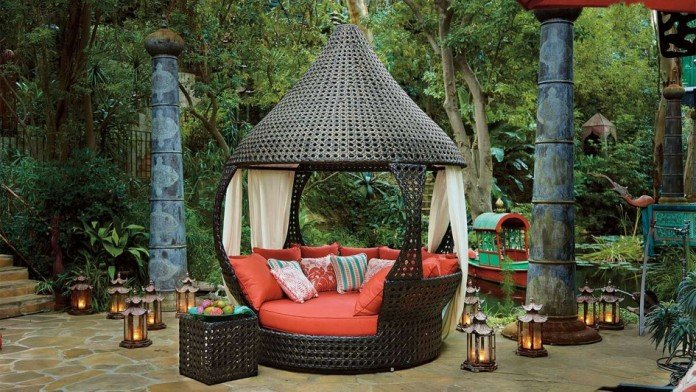 canopy daybed outdoor wicker sun sofa lounge best upholstery for pets 41 fabulous furniture design ideas your ...