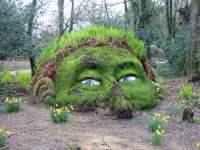 30 Moss Garden Ideas: Graffiti, Statue, Ornament Designs