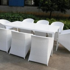 White Wicker Chairs And Table Hooded Hair Dryer 41 Fabulous Outdoor Furniture Design Ideas For Your Patio Angular Rattan