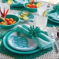 Outdoor Melamine Dinnerware for Summer that looks like ...