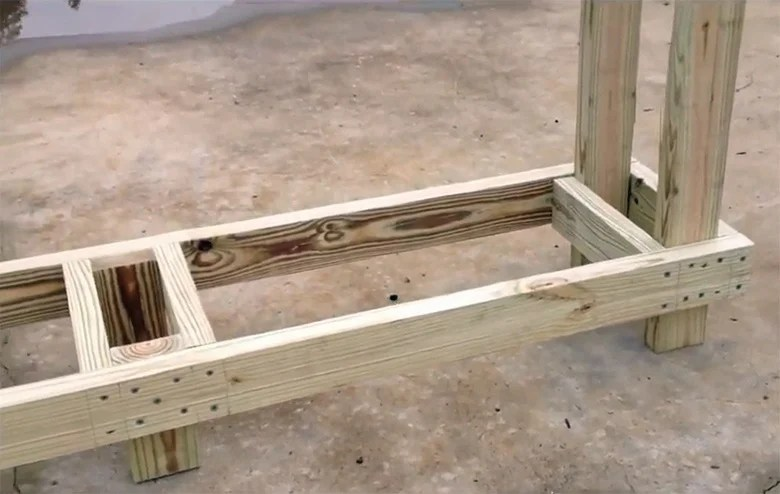 4 free firewood rack plans built from