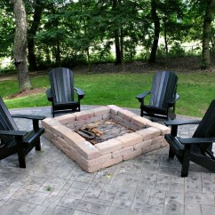 Fire Pit And Adirondack Chairs Cooling Gel Pad For Chair Magical Outdoor Seating Ideas Area Designs