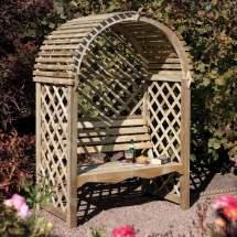 Garden Arbor Bench Design Ideas & Diy Kits