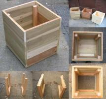 14 Square Planter Box Plans Diy 100 Free