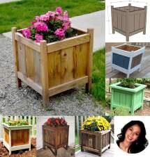 14 Square Planter Box Plans Diy 100 Free