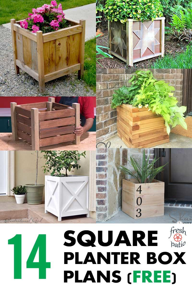hight resolution of image to pin planters
