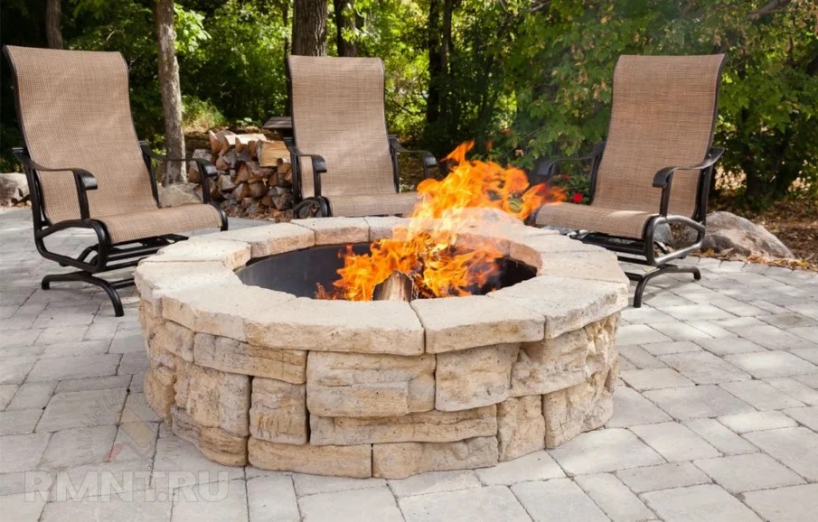 top 40 diy fire pit ideas stacked